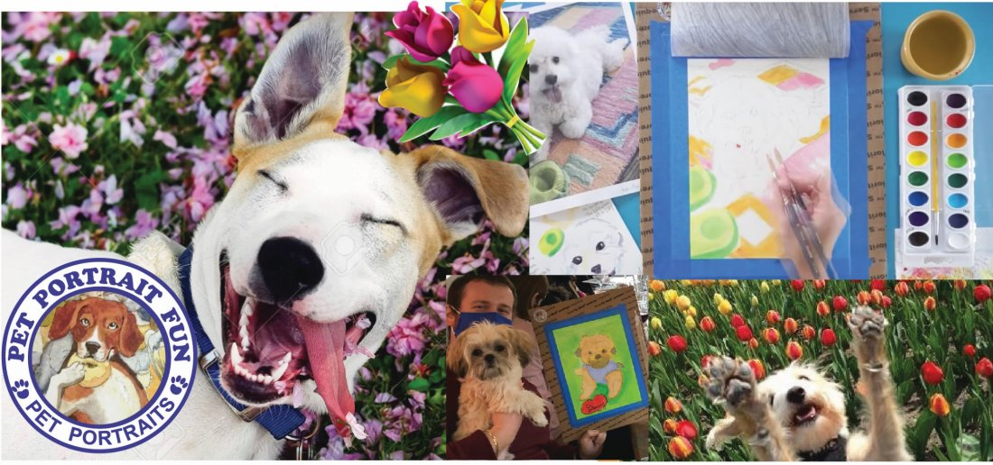 Summer Paint Night - Pet Portrait Fun at Barking Dog
