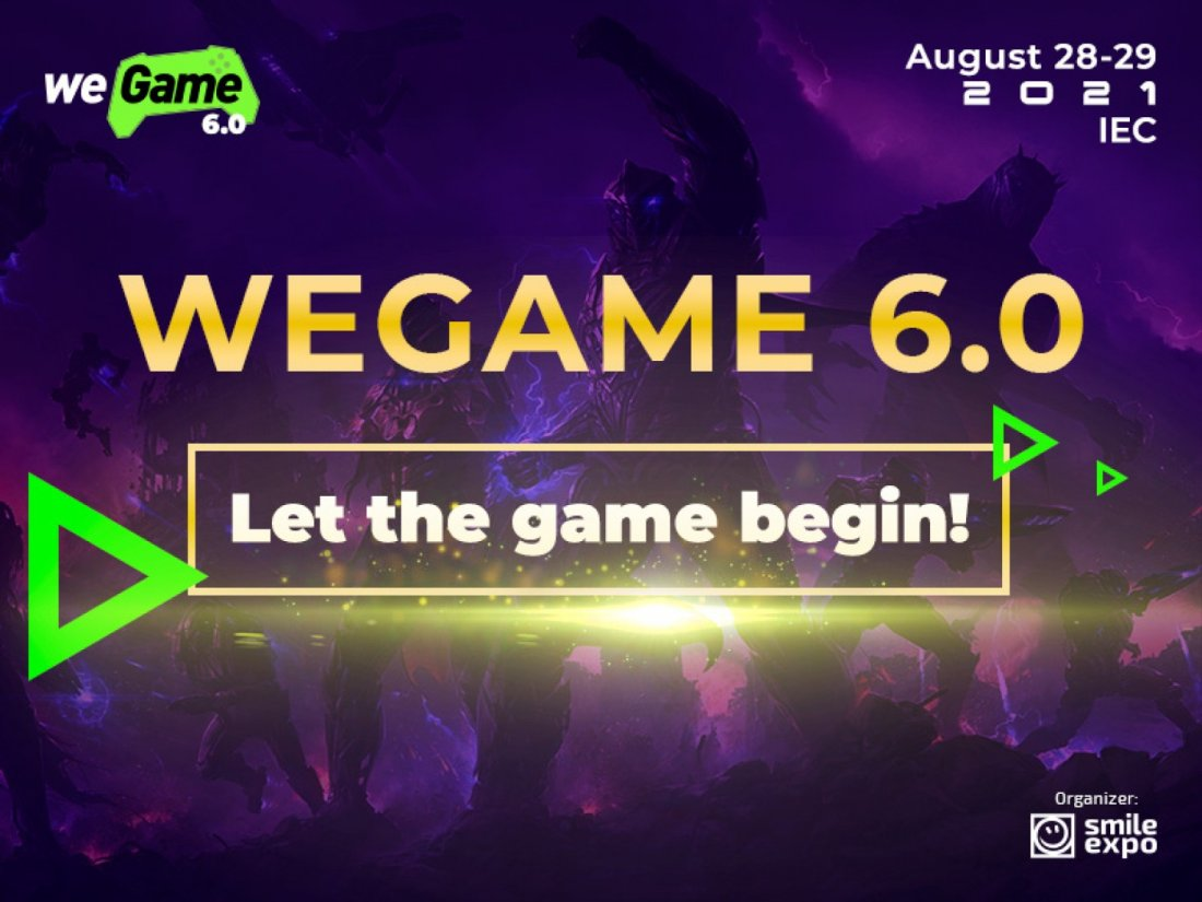 WeGame 6.0 \u2013 festival of game and geek culture