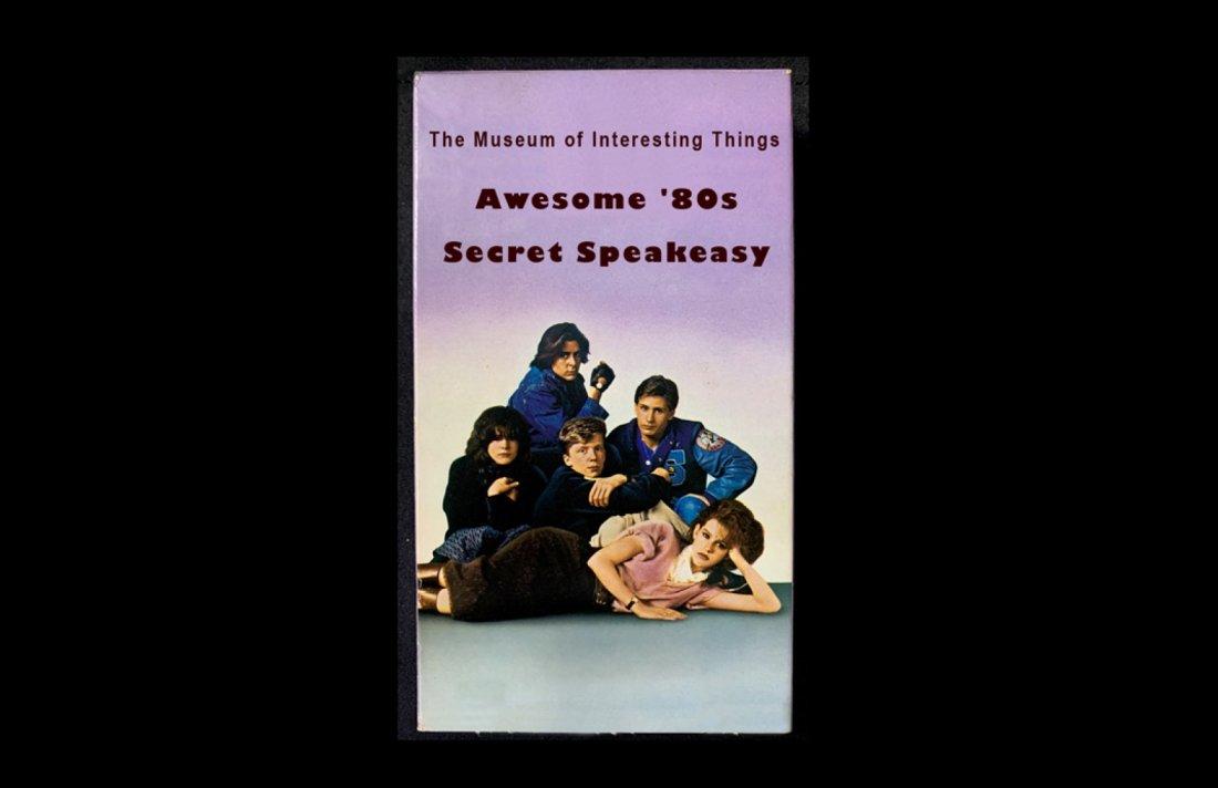 Awesome 80\u2019s Secret Speakeasy Sunday July 25th 7pm