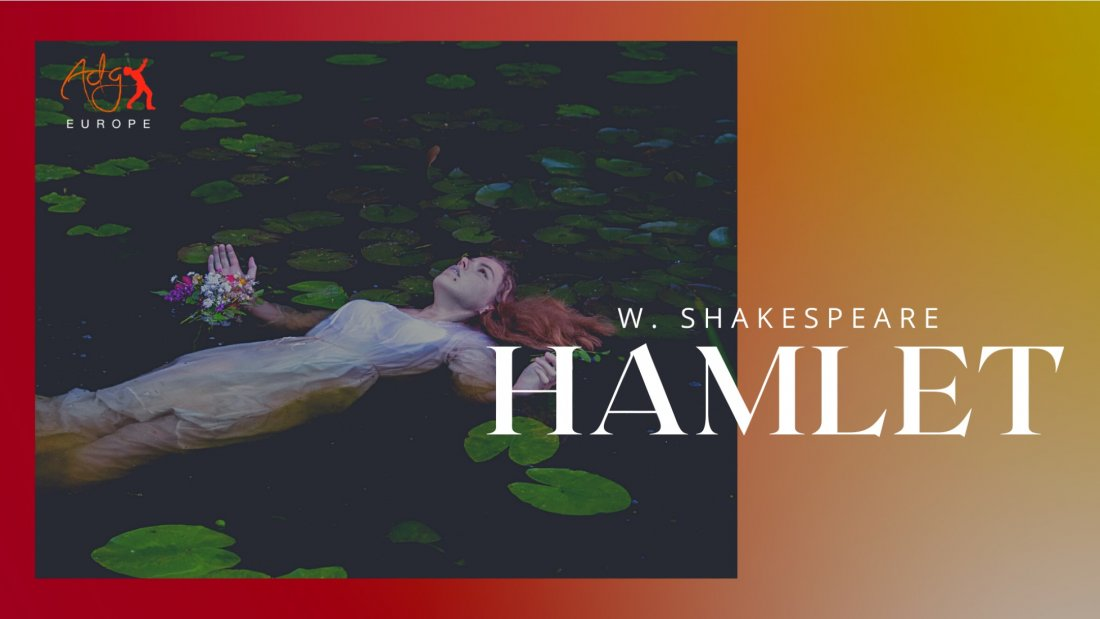 "G\u00e6stespil ""HAMLET"" (W. Shakespeare) p\u00e5 engelsk"