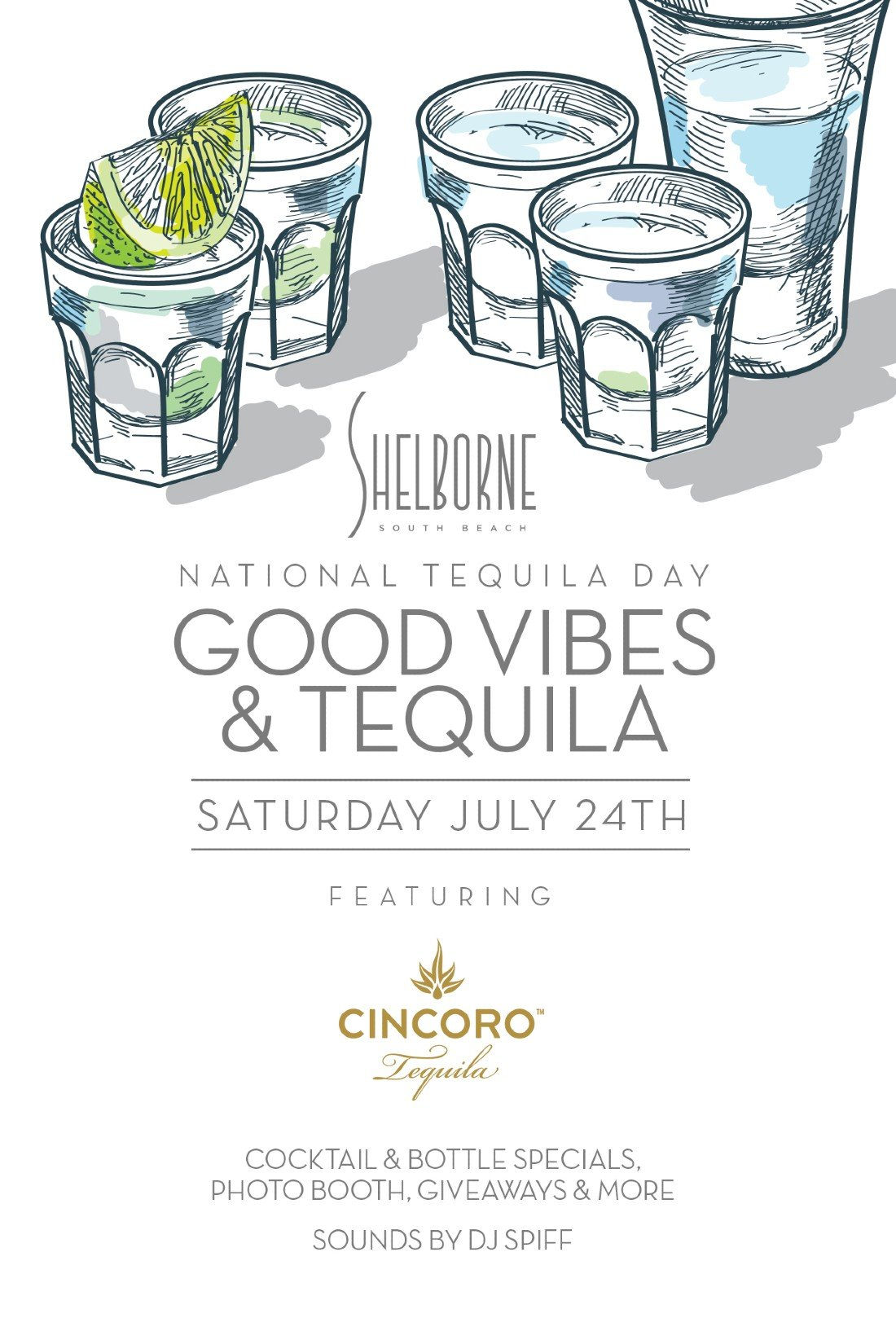National Tequila Day- Good Vibes and Tequila