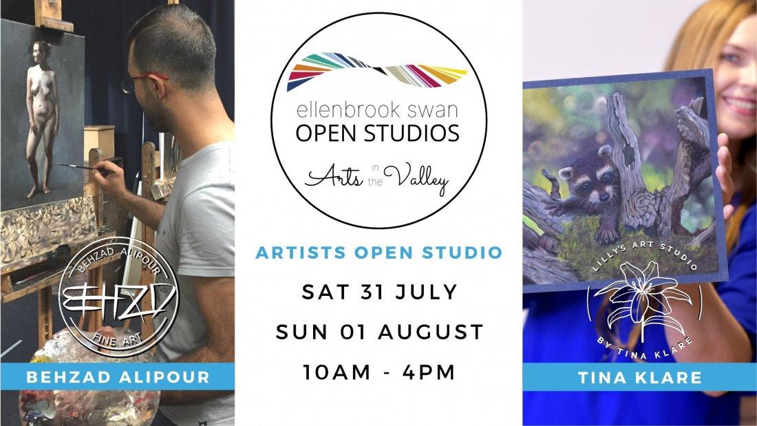 Behzad Alipour and Tina Klare Artist Open Studio - (Ellenbrook Swan Open Studios)