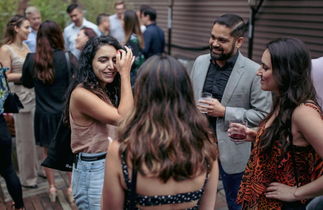 NYC Professional Networking with Live Music and a Tarot Card Reader