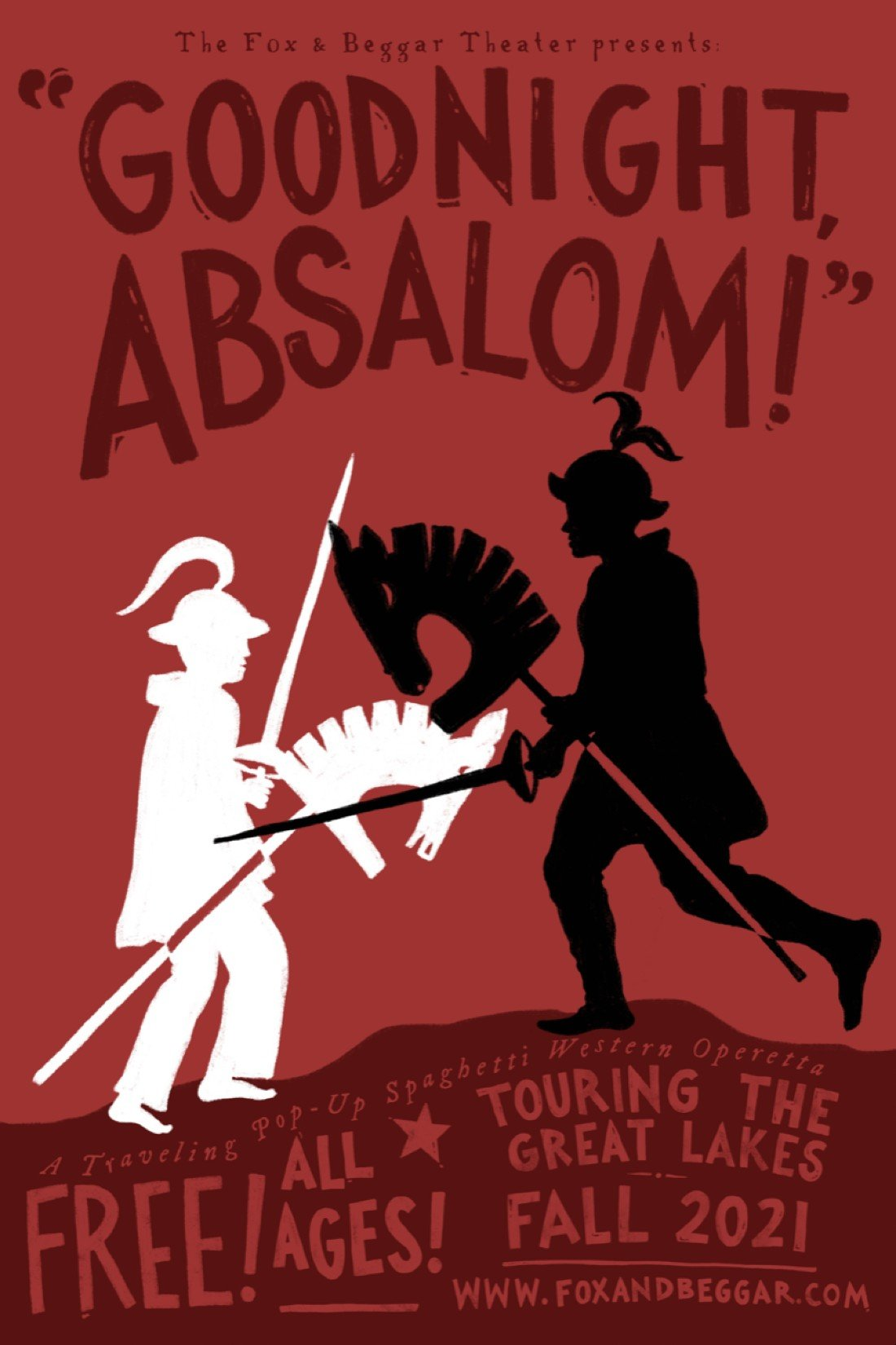 The Fox and Beggar Theater Presents: Goodnight, Absalom!