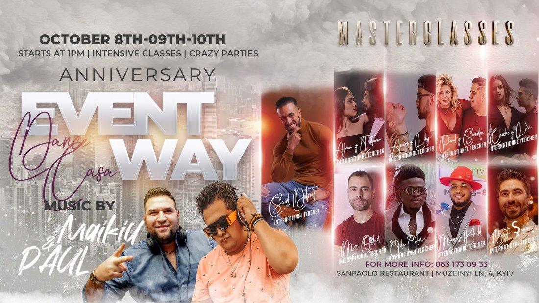 Dance Casa: EventWay Anniversary