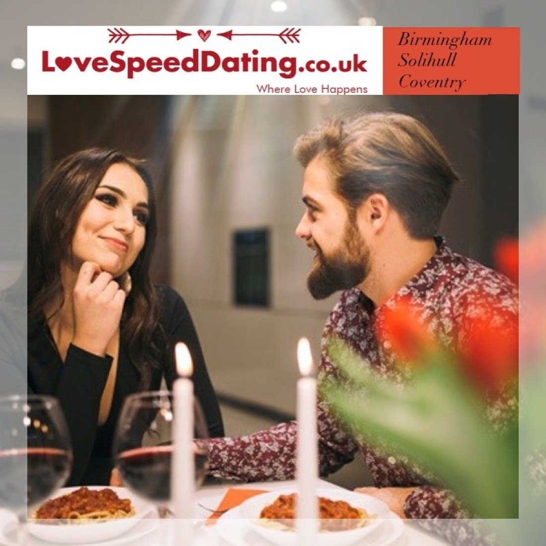 Speed Dating Singles Event Birmingham ages 30's and 40's