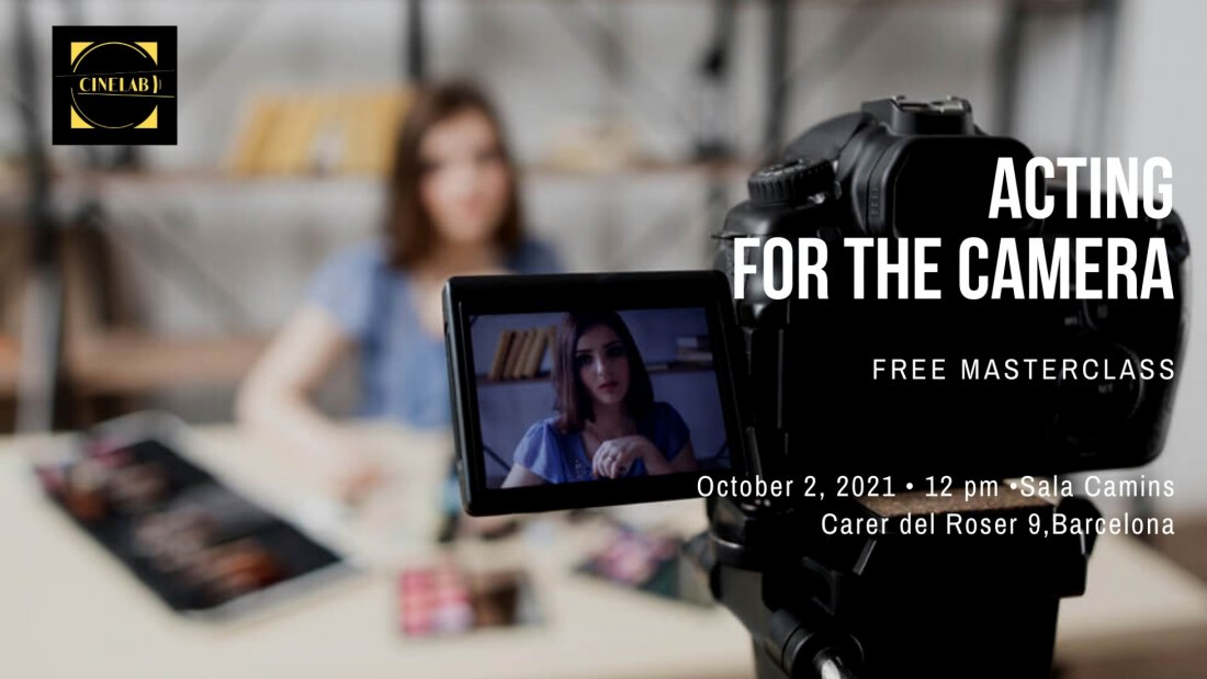 Free Masterclass: Acting for the camera