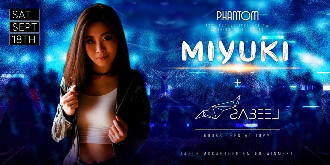 MIYUKI @ Phantom Lounge DC