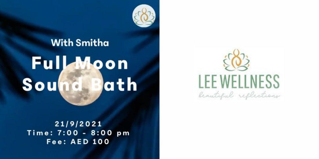 Full Moon Sound Bath with Smitha