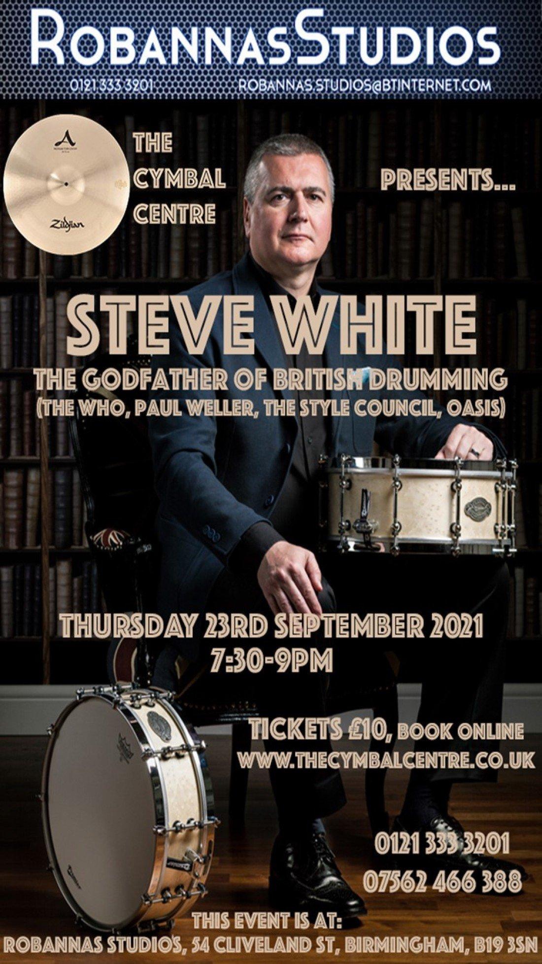 Steve White Drum Clinic Birmingham