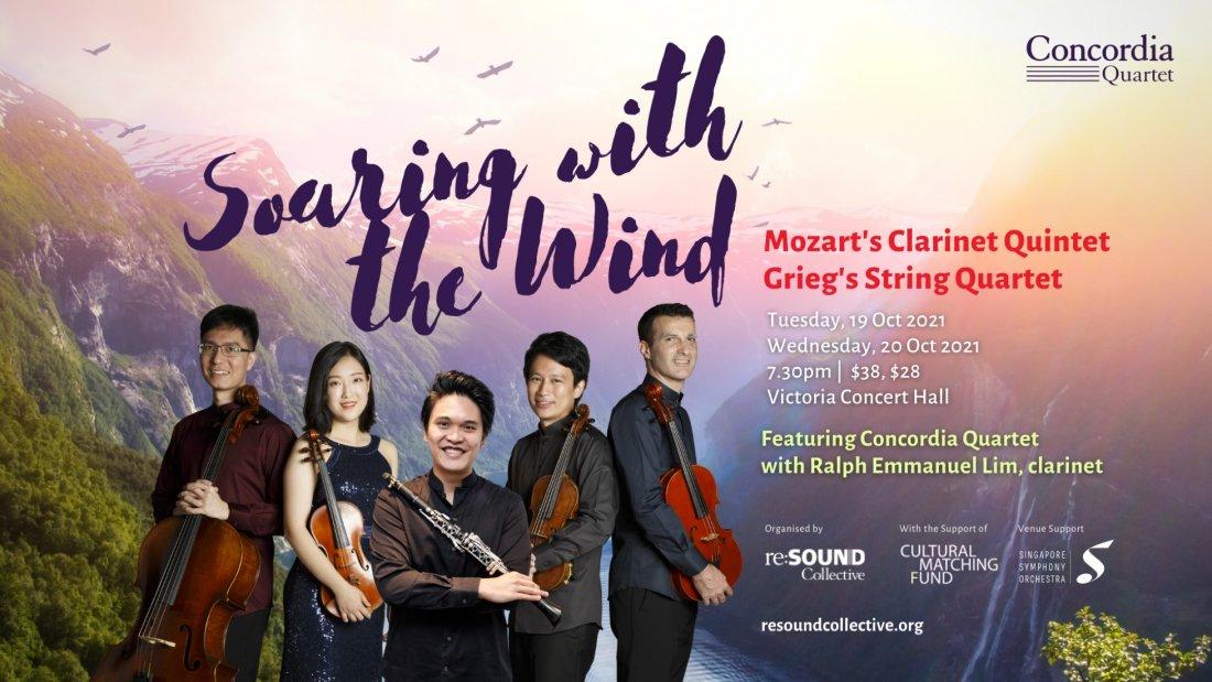 Concordia Quartet - Soaring with the Wind