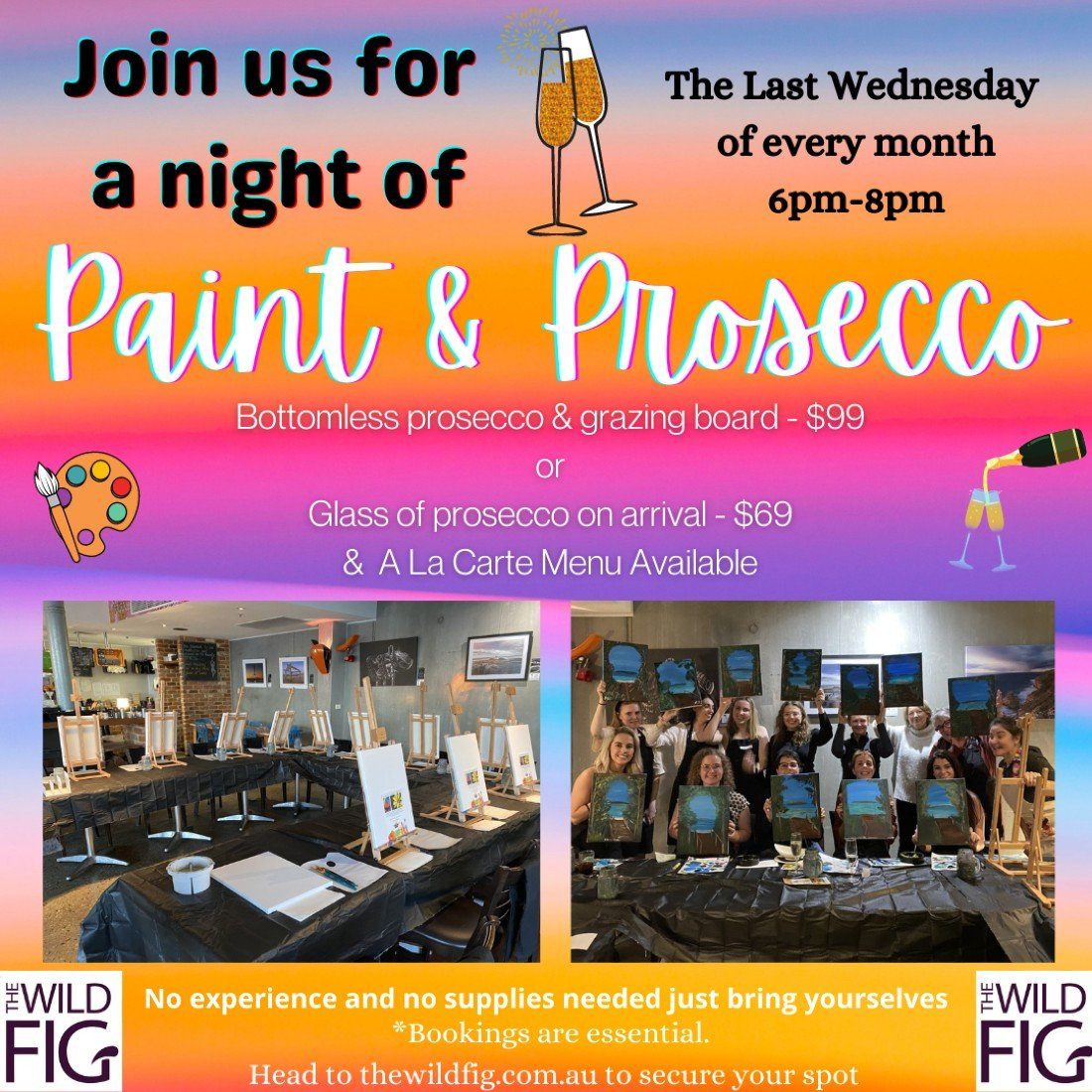 Paint & Prosecco Night