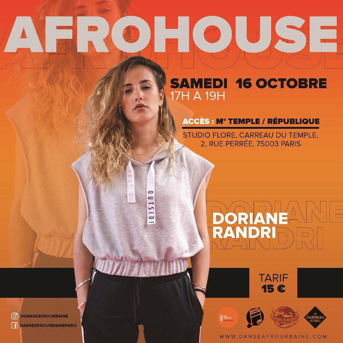 Stage d'Afrohouse avec Doriane Randri