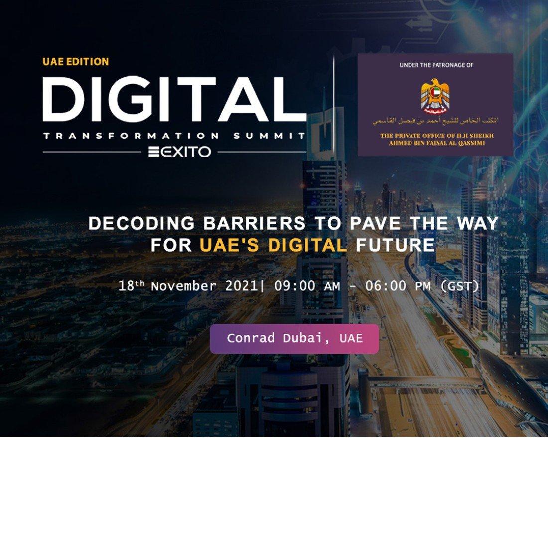 Digital Transformation Summit: UAE