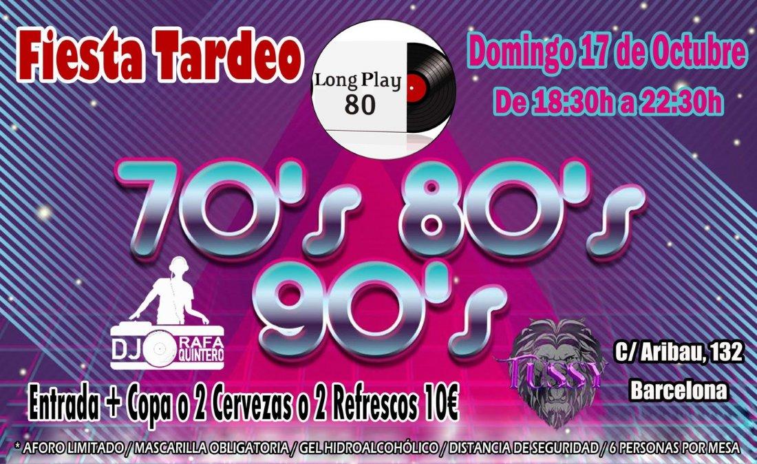 Fiesta Tardeo 70s 80s 90s