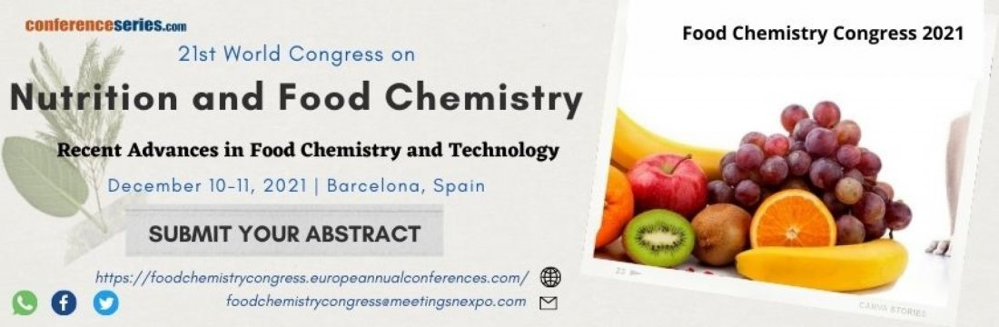 21st World Congress on Nutrition and Food Chemistry