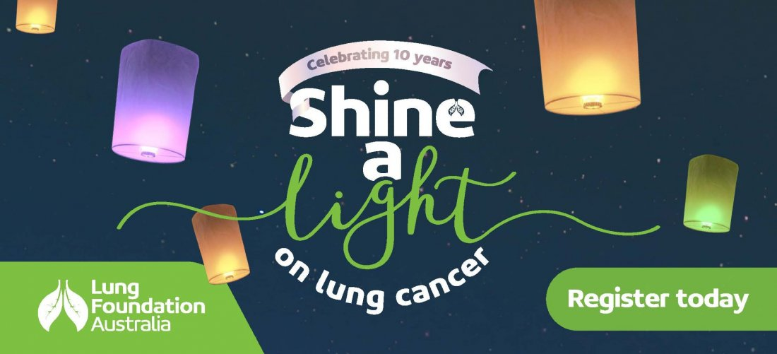 Shine a light on Lung Cancer 2021